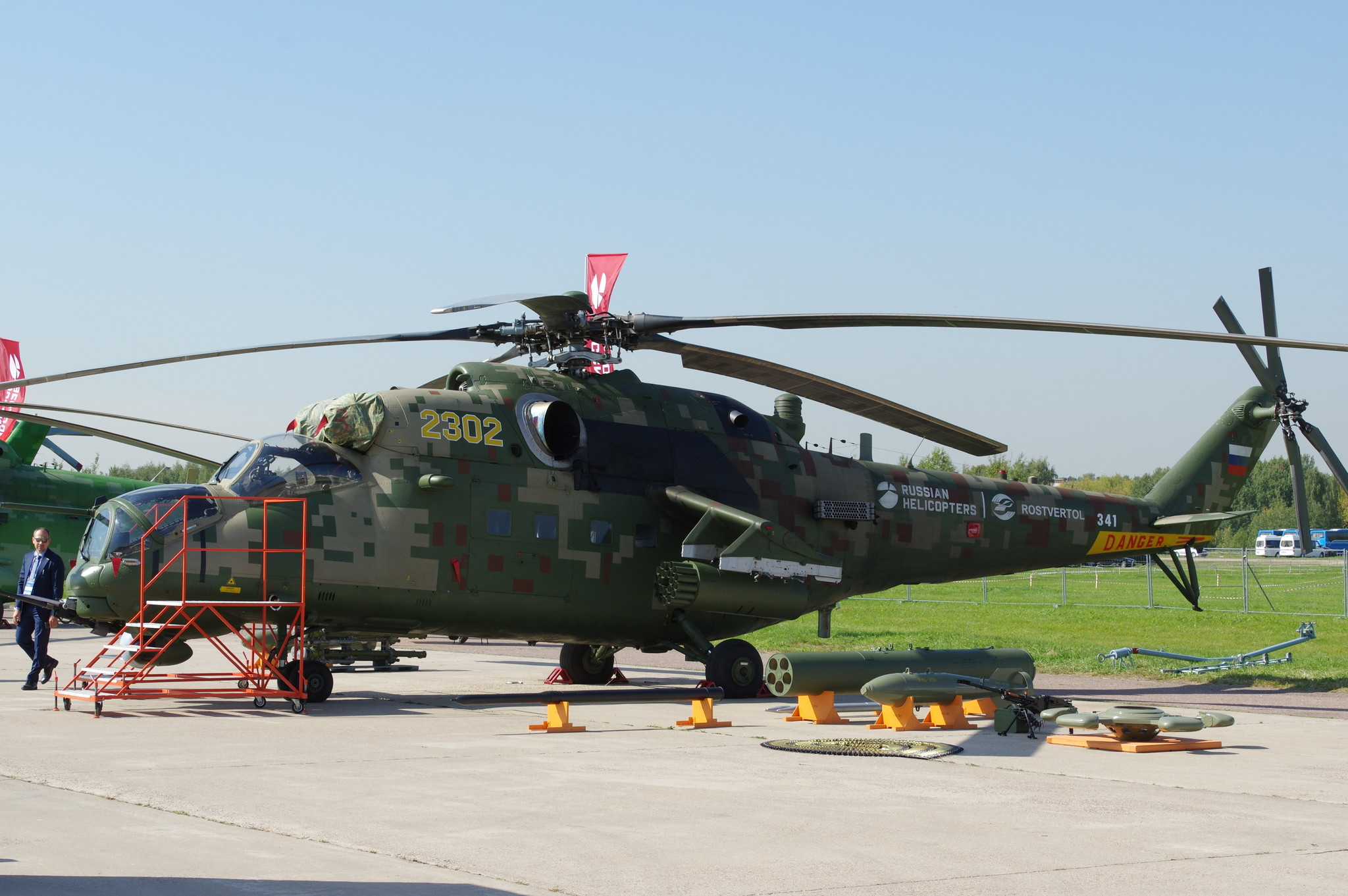 Транспортно-боевой вертолёт Ми-35М - глубокая модернизация вертолёта Ми-24