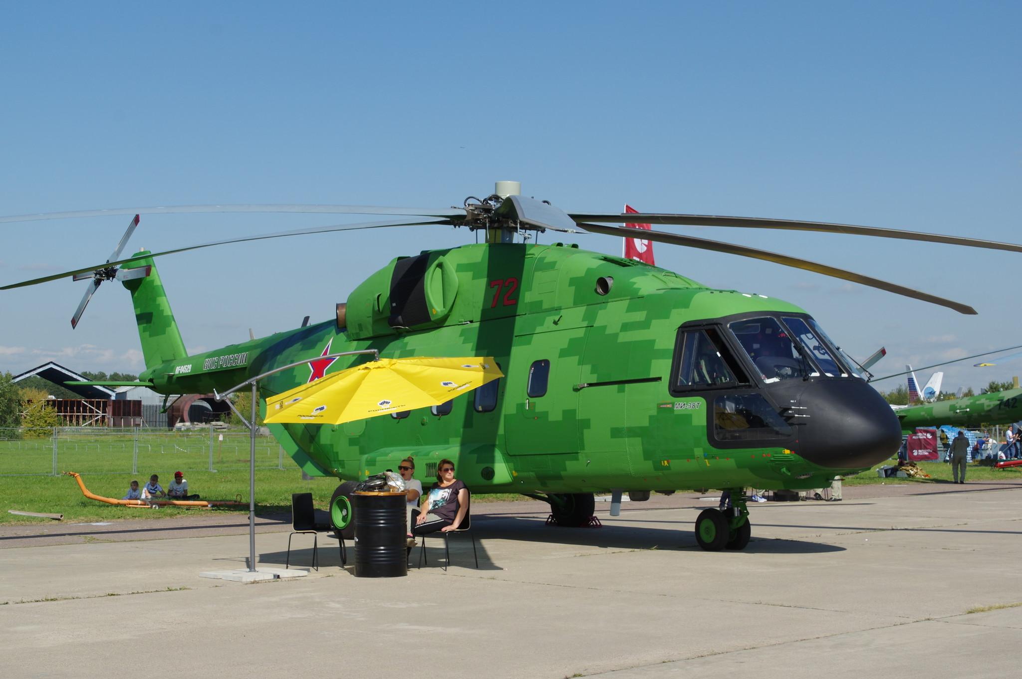 Военно-транспортный вертолёт Ми-38Т
