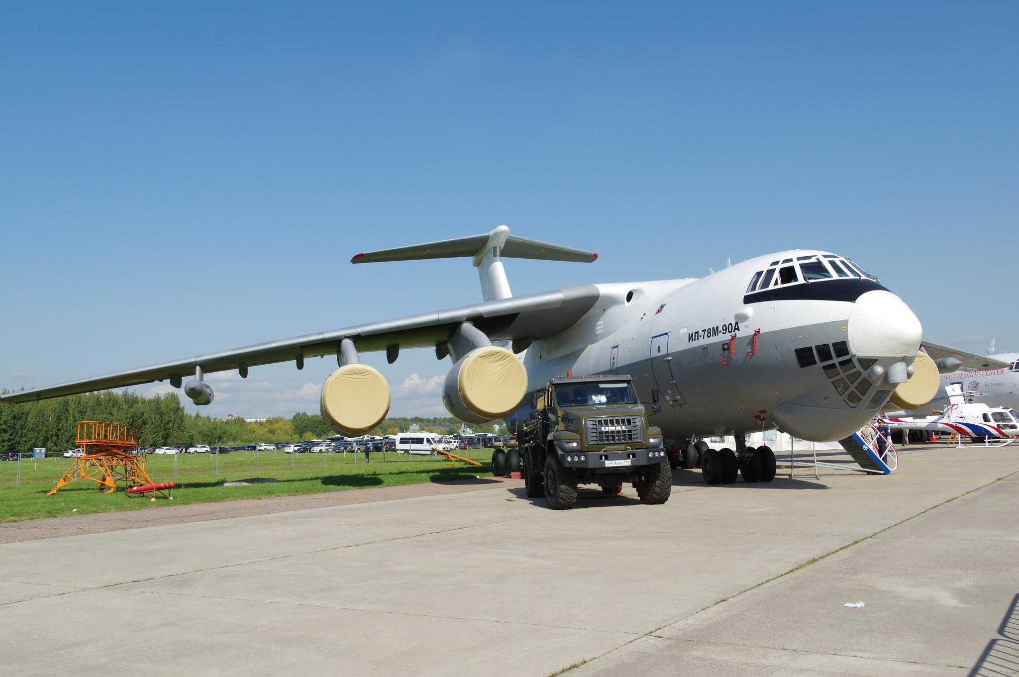 Самолёт-топливозаправщик Ил-78М-90А