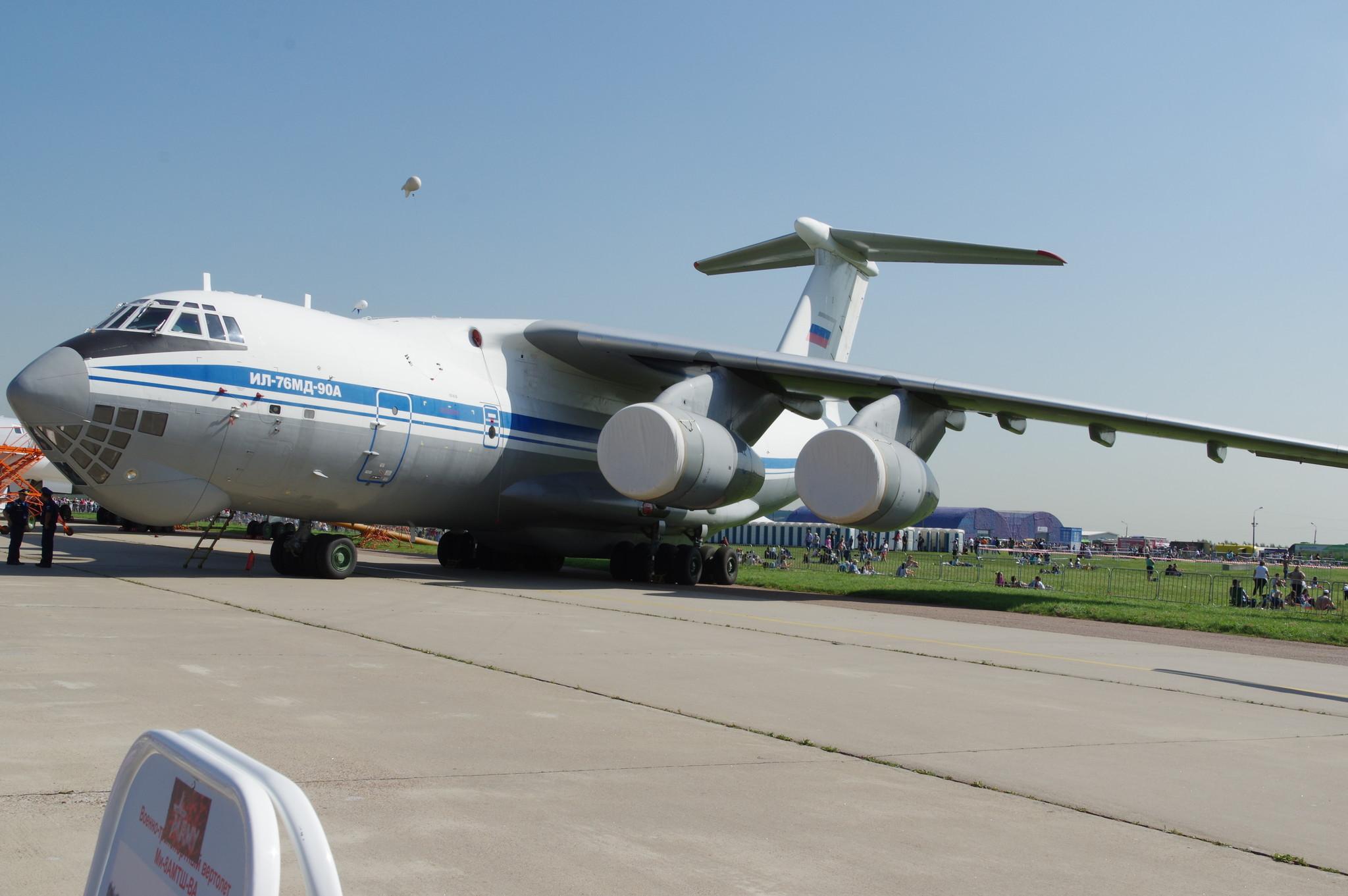 Тяжёлый военно-транспортный самолёт Ил-76МД-90А