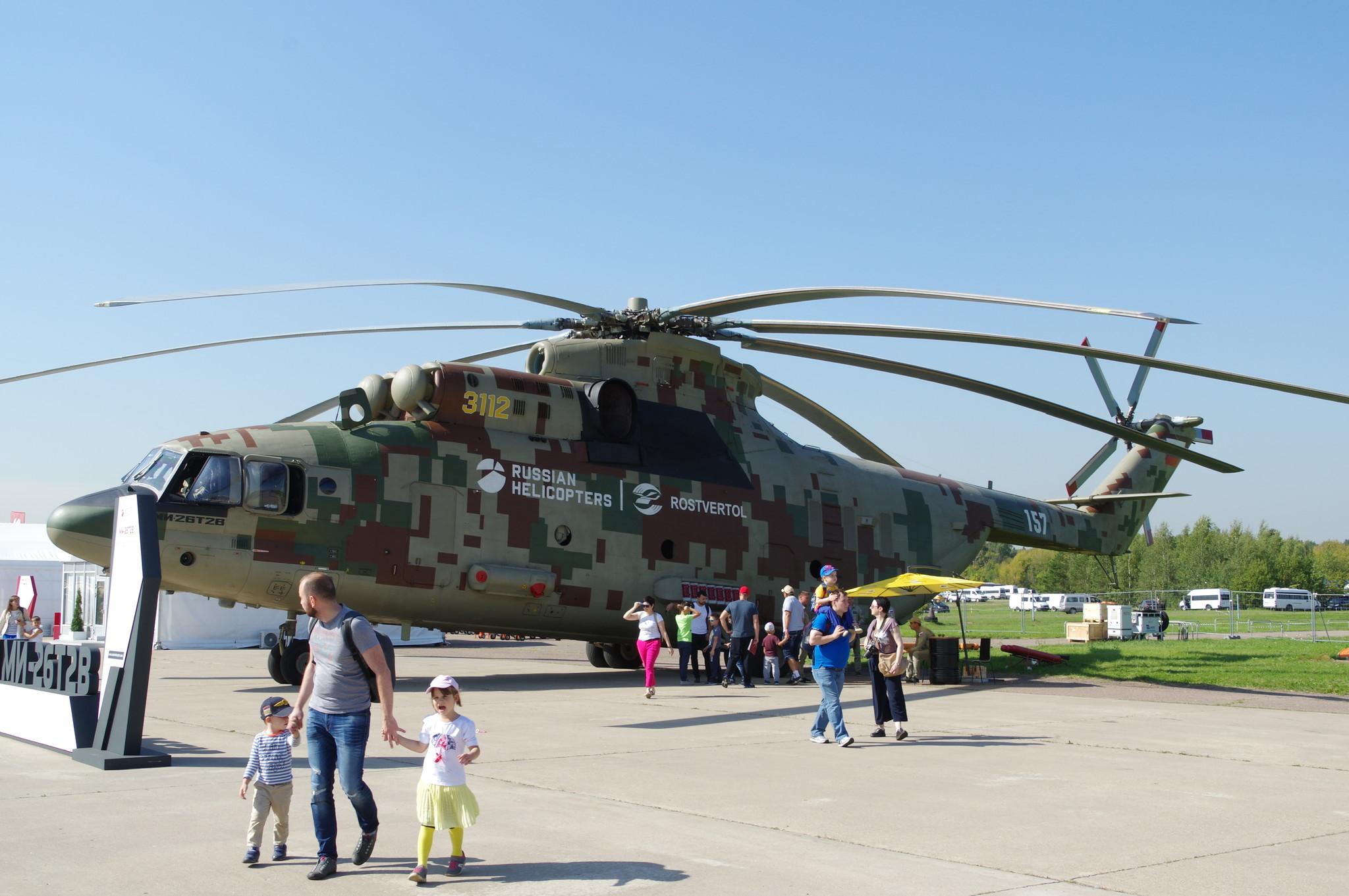 Тяжёлый вертолёт Ми-26Т2В