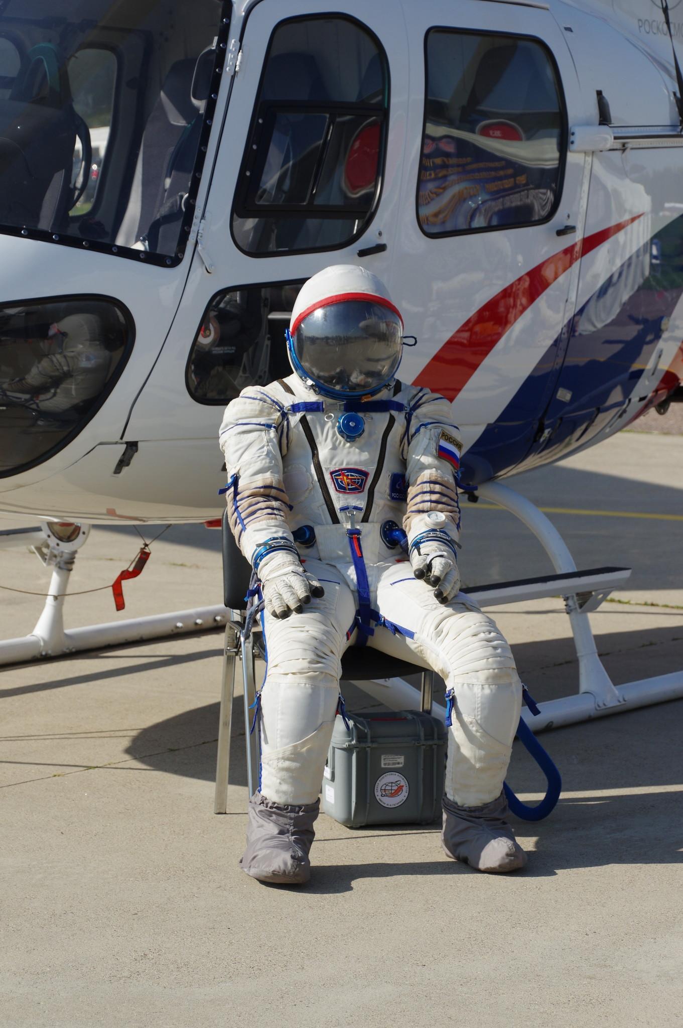 Скафандр российского космонавта