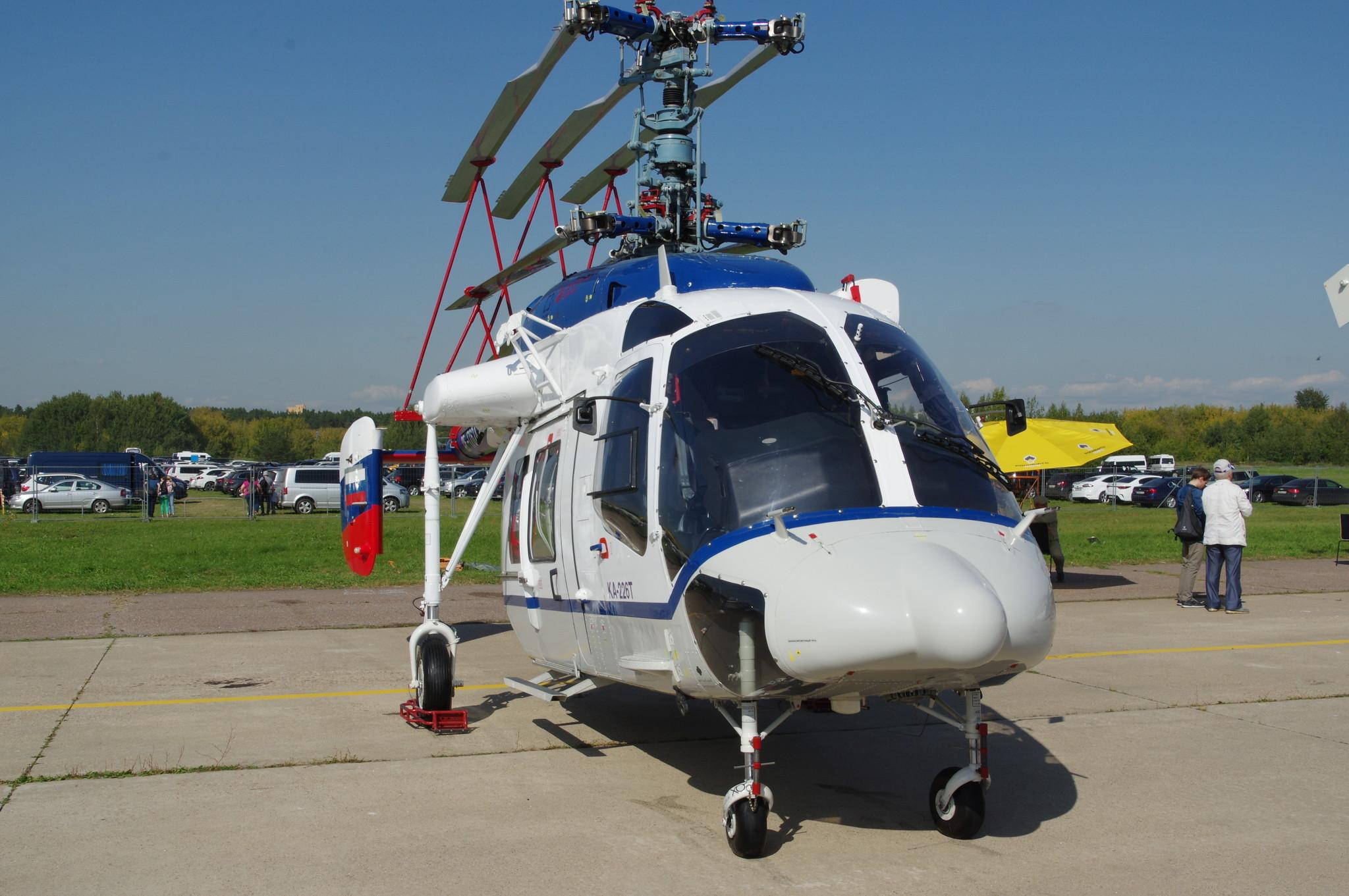 Лёгкий многоцелевой вертолёт Ка-226Т