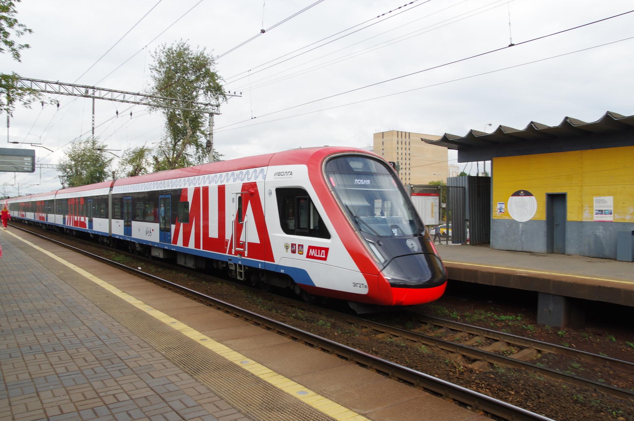 Электропоезд ЭГ2Тв «Иволга» - электропоезд нового поколения, созданный специально для городских перевозок