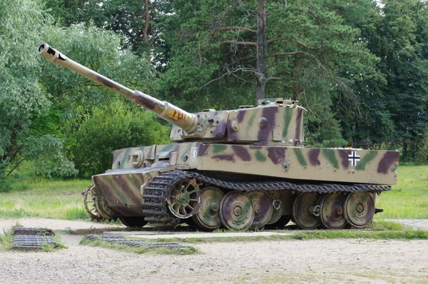 Тяжёлый танк Т-VI (Н1) «Тигр» (Ленино-Снегиревский военно-исторический музей)