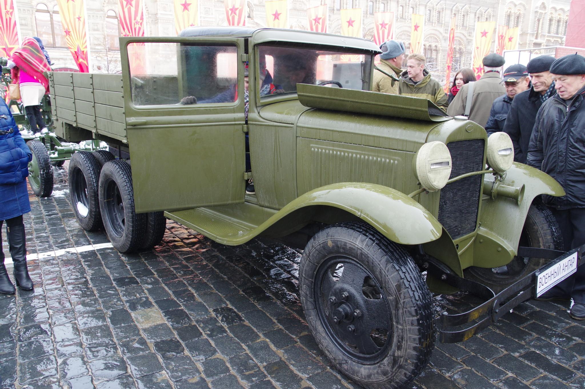 Грузовой автомобиль повышенной проходимости ГАЗ-ААА