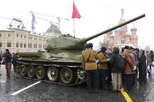Празднование 75-й годовщины военного парада 1941 года в Москве