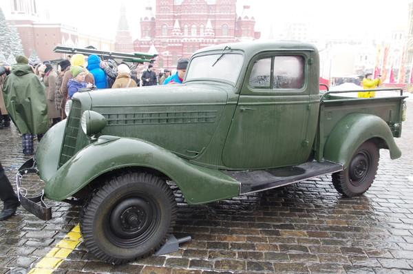 ГАЗ-415 — пикап, грузовой вариант «Эмки» М-1