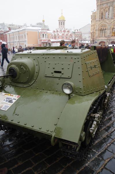 Лёгкий гусеничный бронированный артиллерийский тягач Т-20 «Комсомолец»