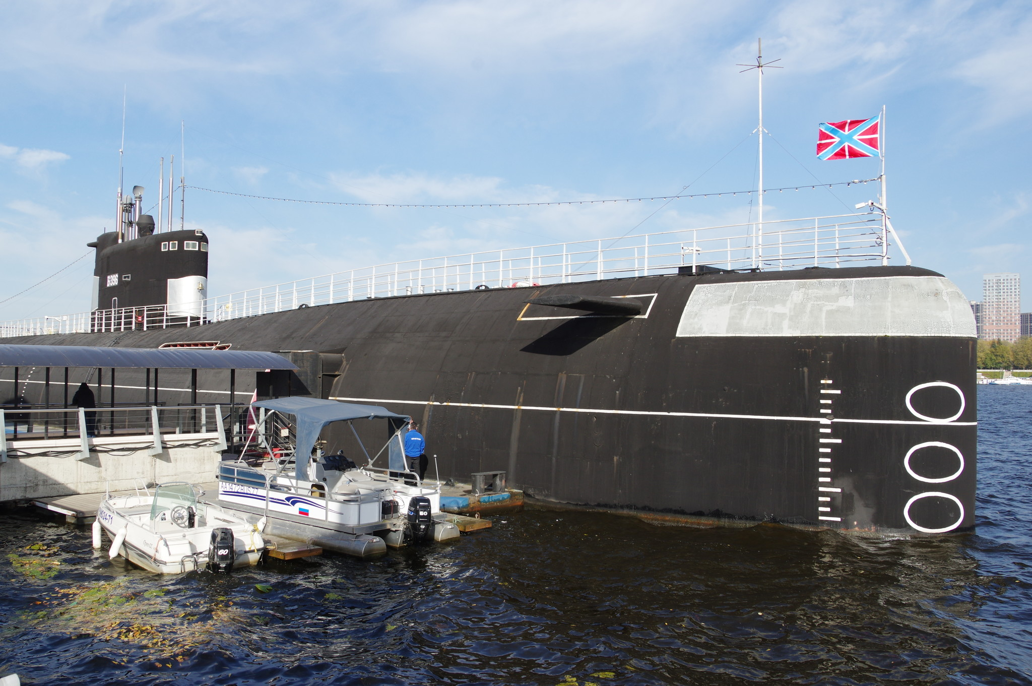 Дизель-электрическая подводная лодка Б-396 «Новосибирский комсомолец»
