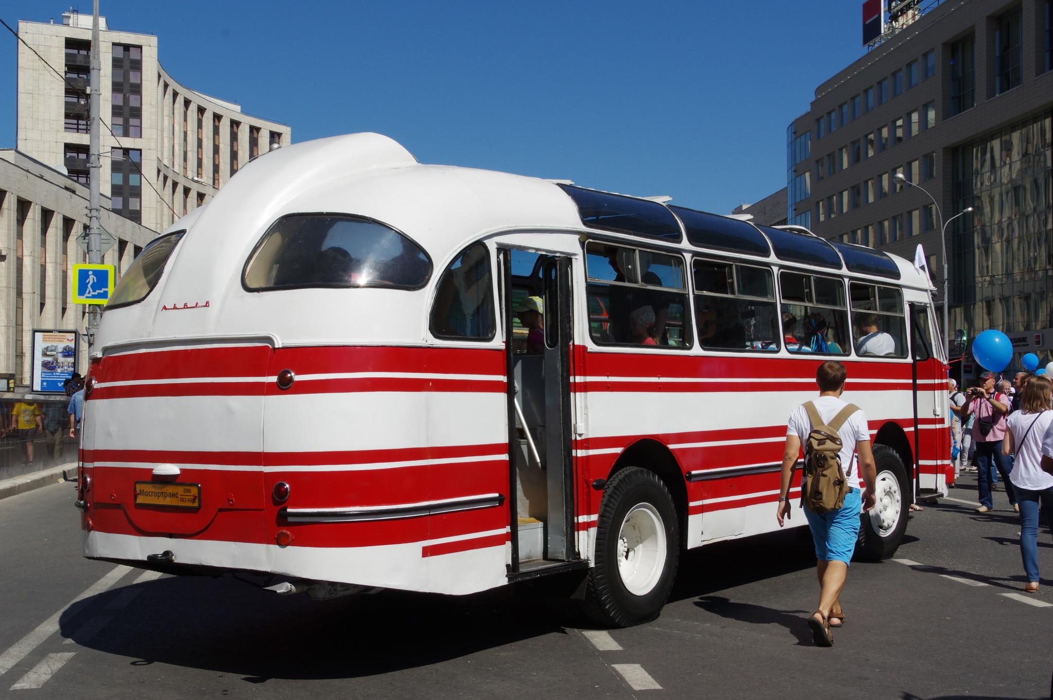 Городской автобус ЛАЗ-695Е