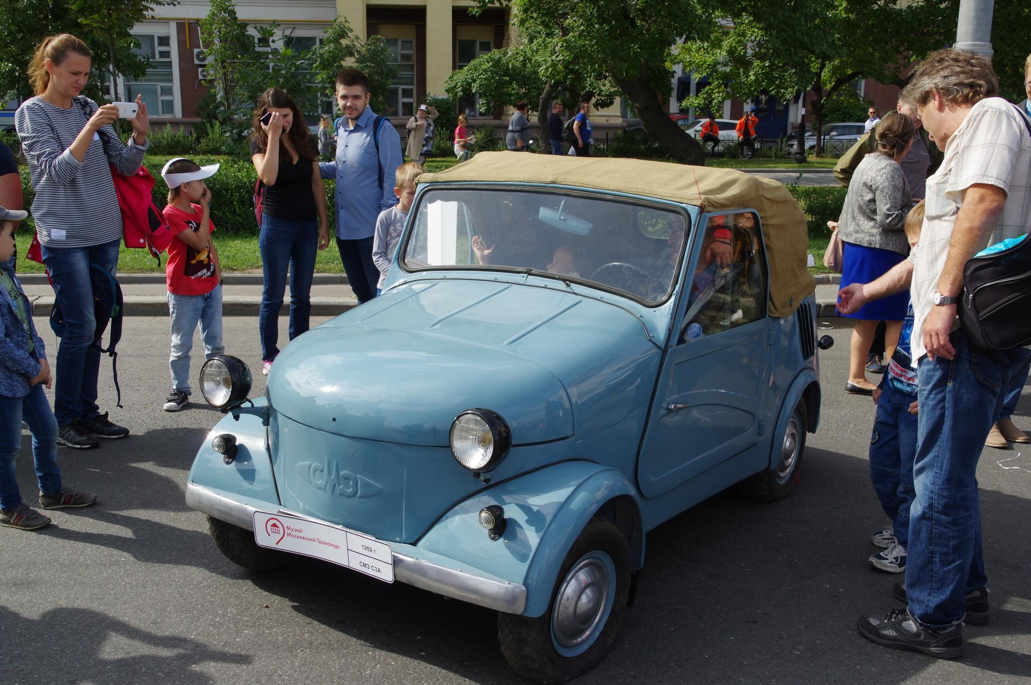 Автомобиль-мотоколяска СМЗ С-3А