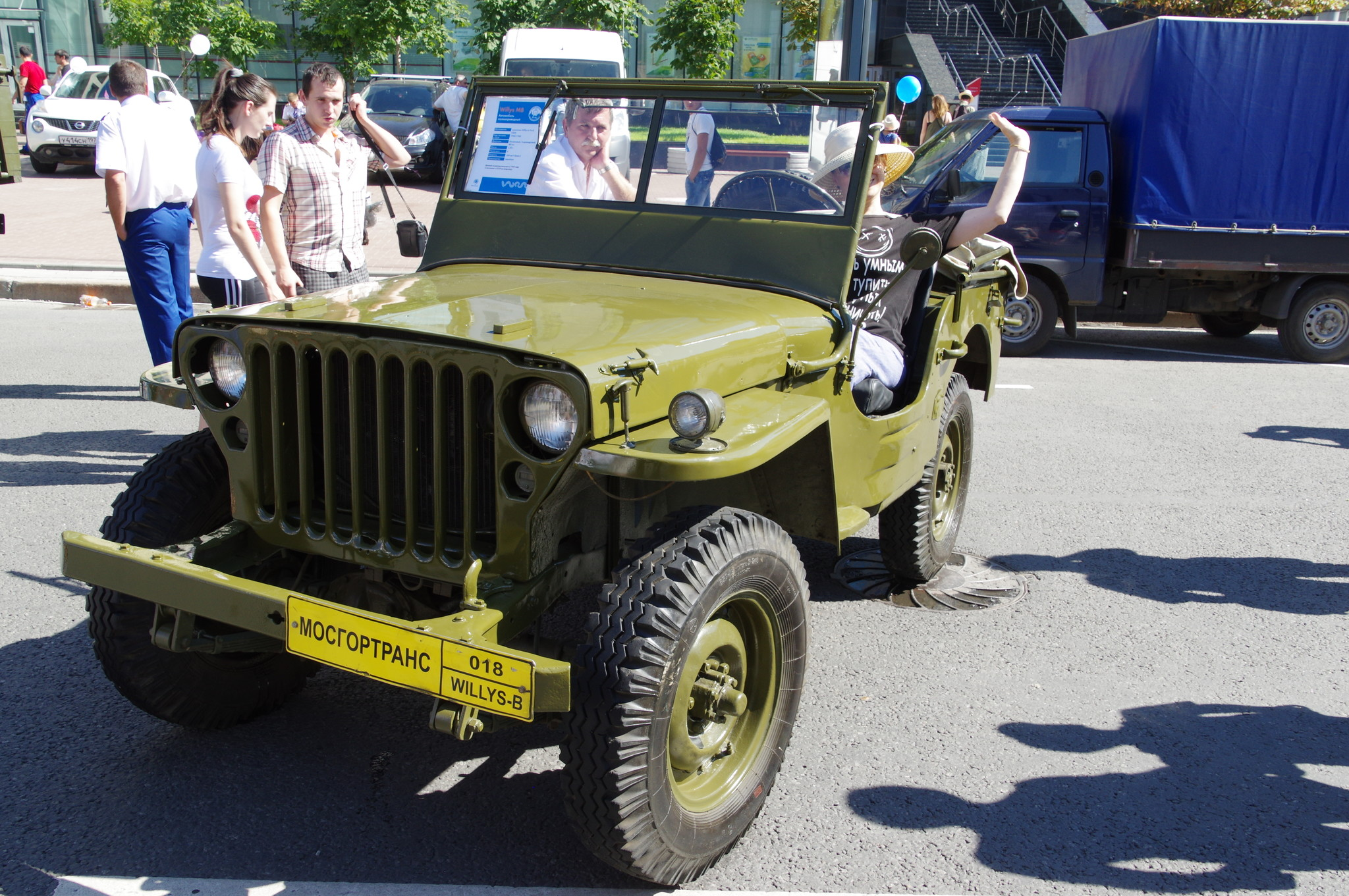Автомобиль Willys-B (Виллис)