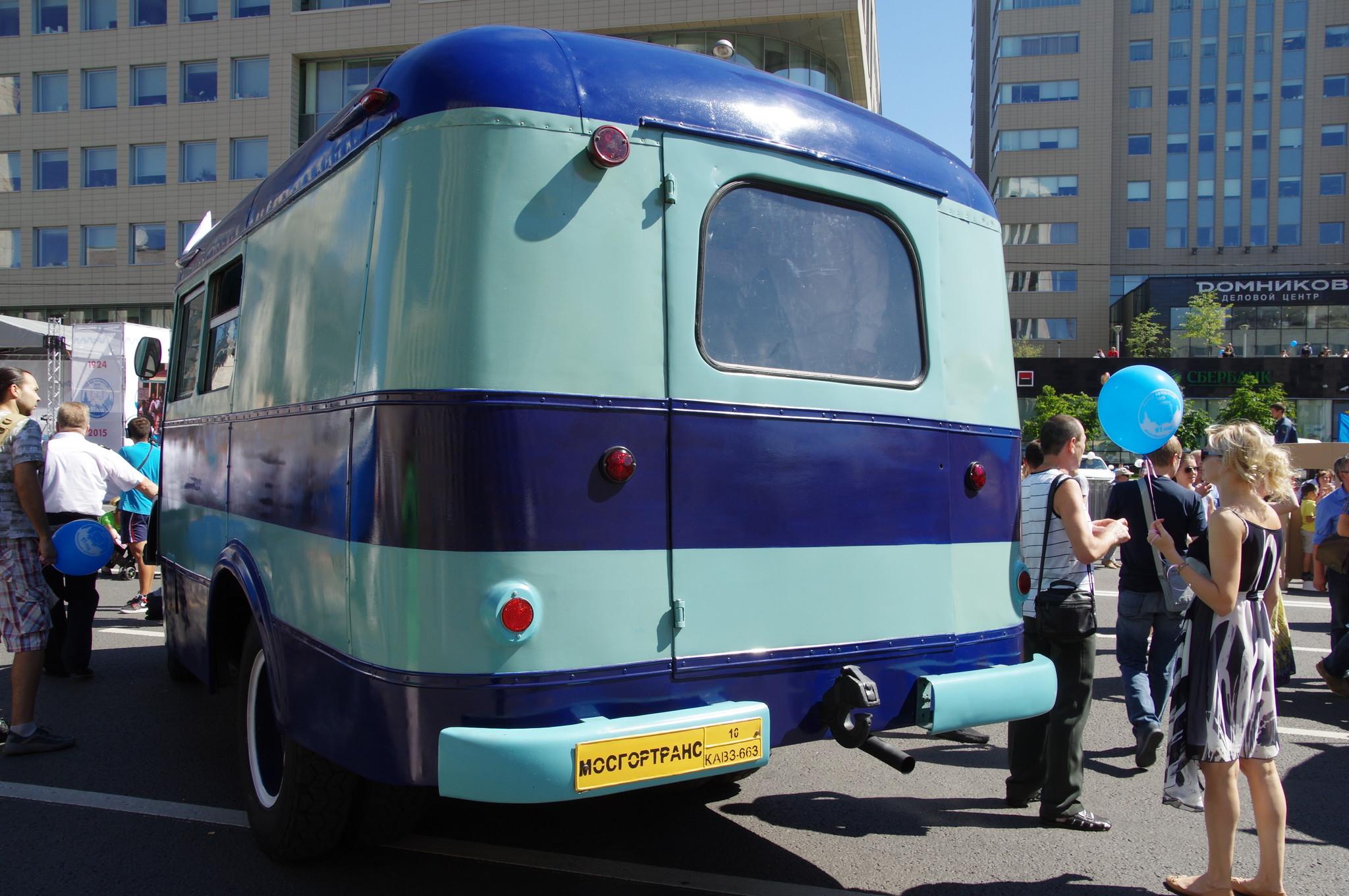Автобус КАвЗ-663