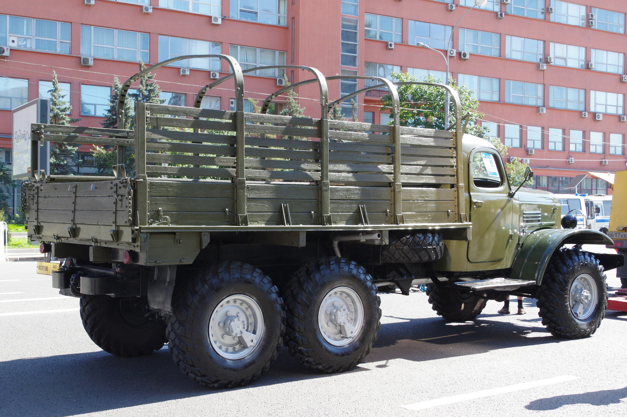 Грузовой автомобиль повышенной проходимости ЗИЛ-157