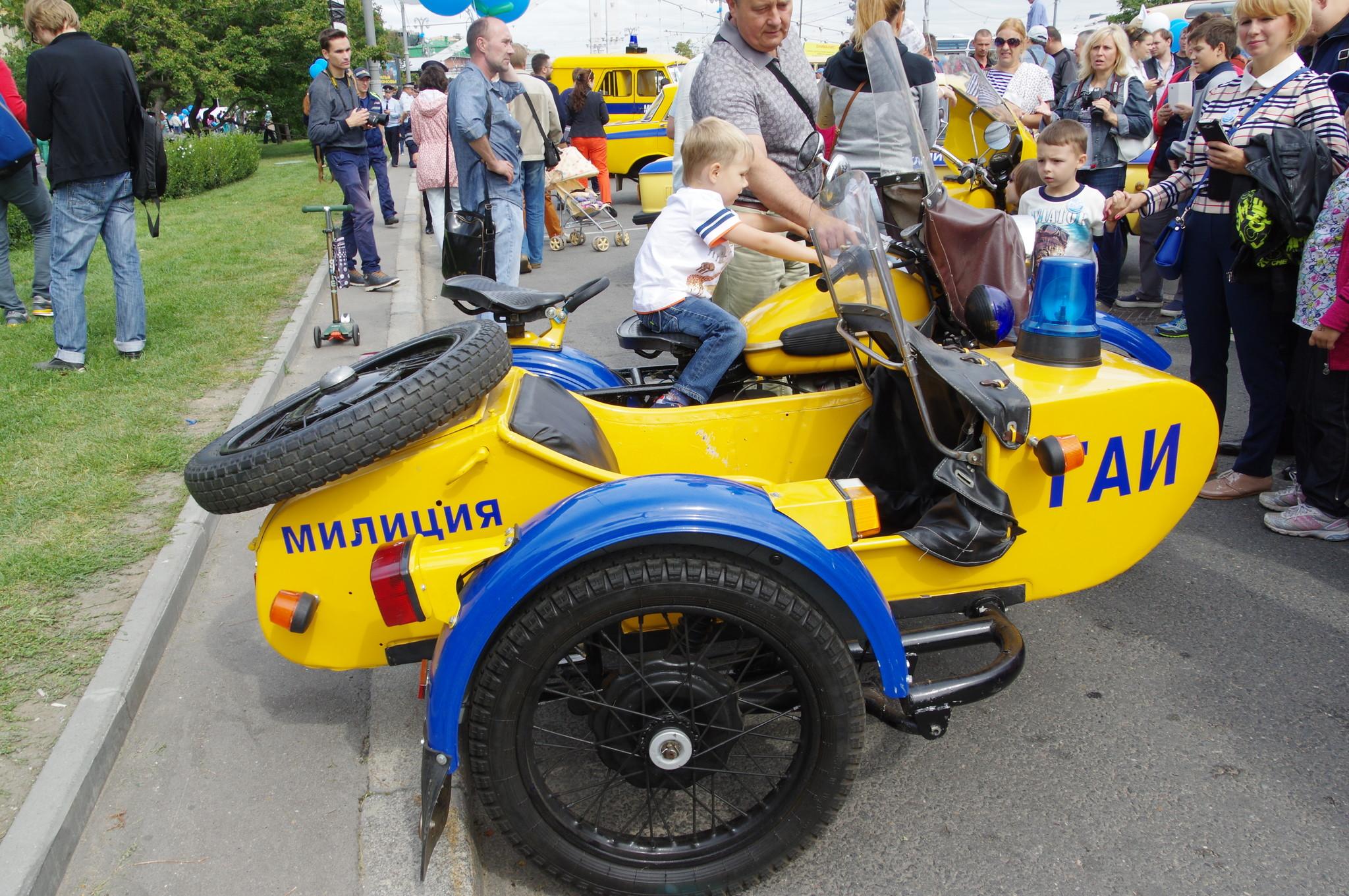 Милицейский мотоцикл