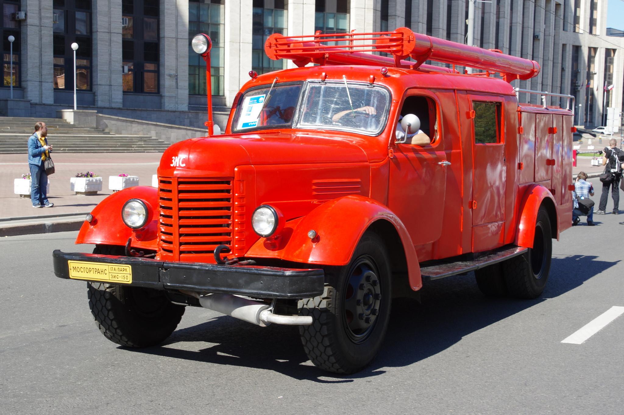 Пожарная автоцистерна ПМЗ-9М