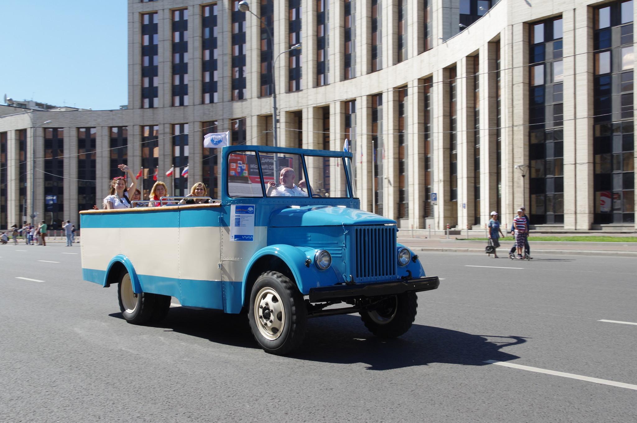 Автобус курортный ЦАРМ «Рица»