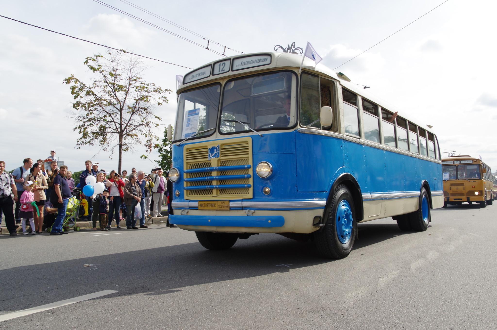 Городской автобус средней вместимости ЛиАЗ-158В