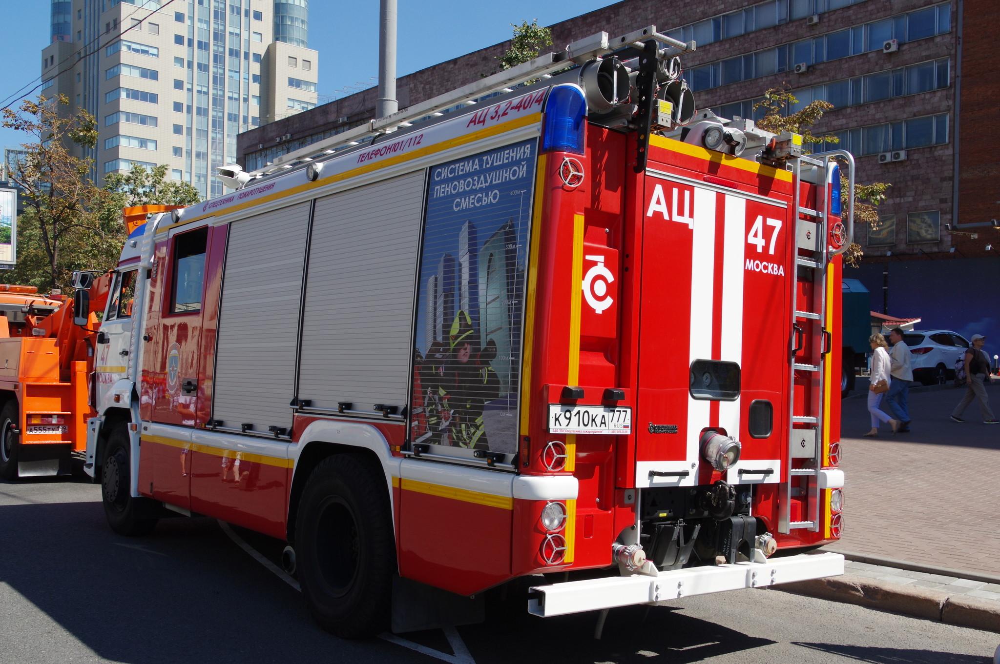 Автоцистерна пожарная АЦ 3,2-40/4 на шасси КАМАЗ-43253