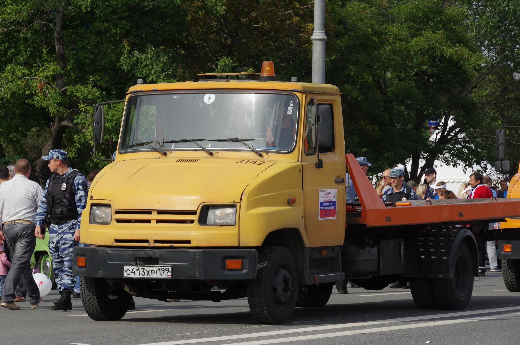 Эвакуатор ЗИЛ-5301 «Бычок»