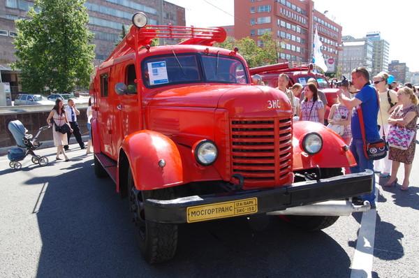 Пожарная машина на шасси ЗИС-150