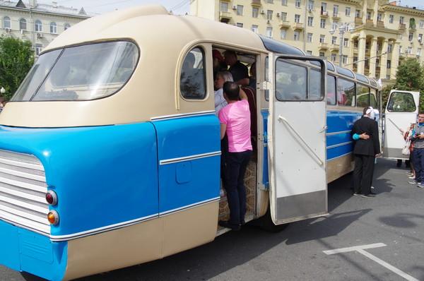 Междугородный автобус Ikarus 55 1953 года выпуска