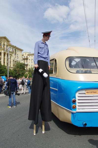 Городское мероприятие «Праздник Московского автобуса»