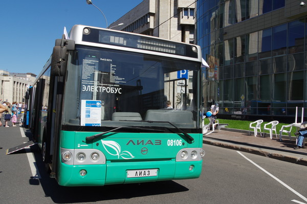 Электробус ЛиАЗ-6274 № 08106