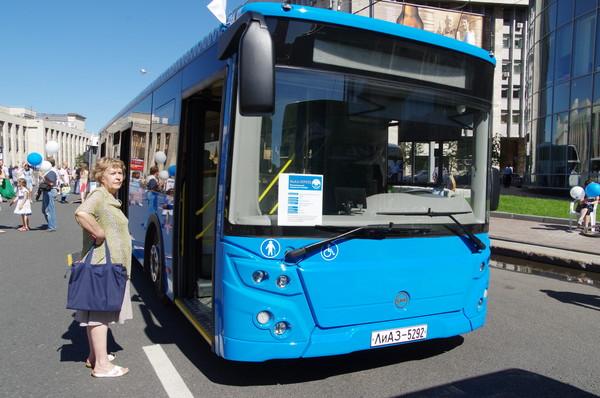 Городской низкопольный автобус ЛИАЗ-529222