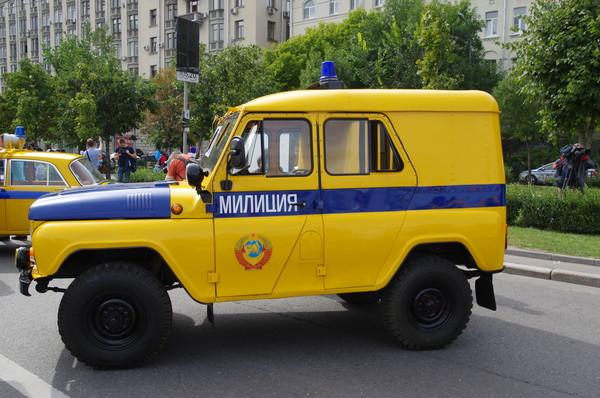 Милицейский автомобиль на базе УАЗ-469Б