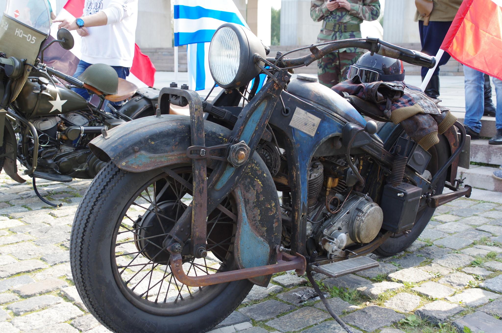Тяжёлый мотоцикл ПМЗ-А-750