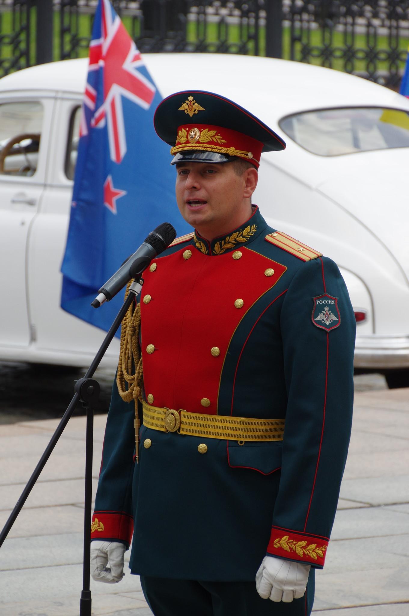 Начальник оркестра Почётного караула Павел Александрович Гернец