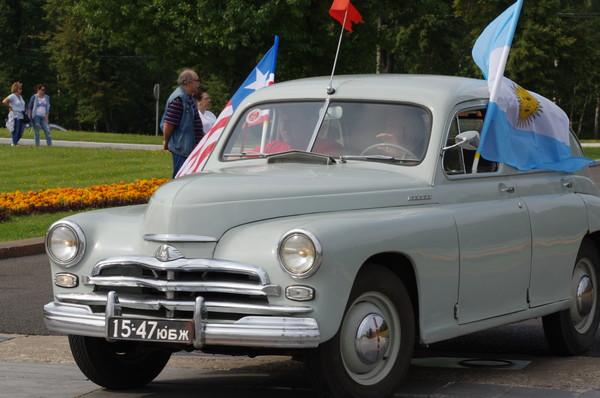 Легковой автомобиль ГАЗ М-20 «Победа»