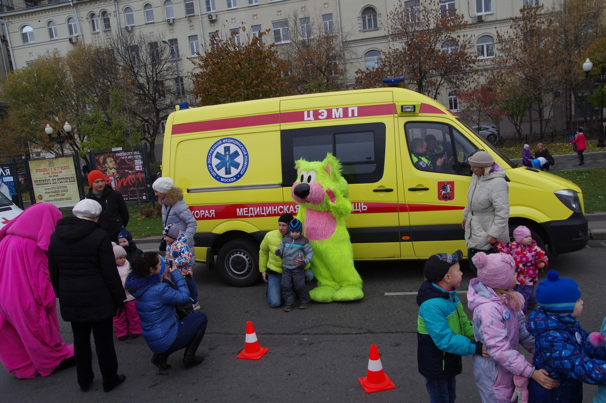 Автомобиль Центра экстренной медицинской помощи