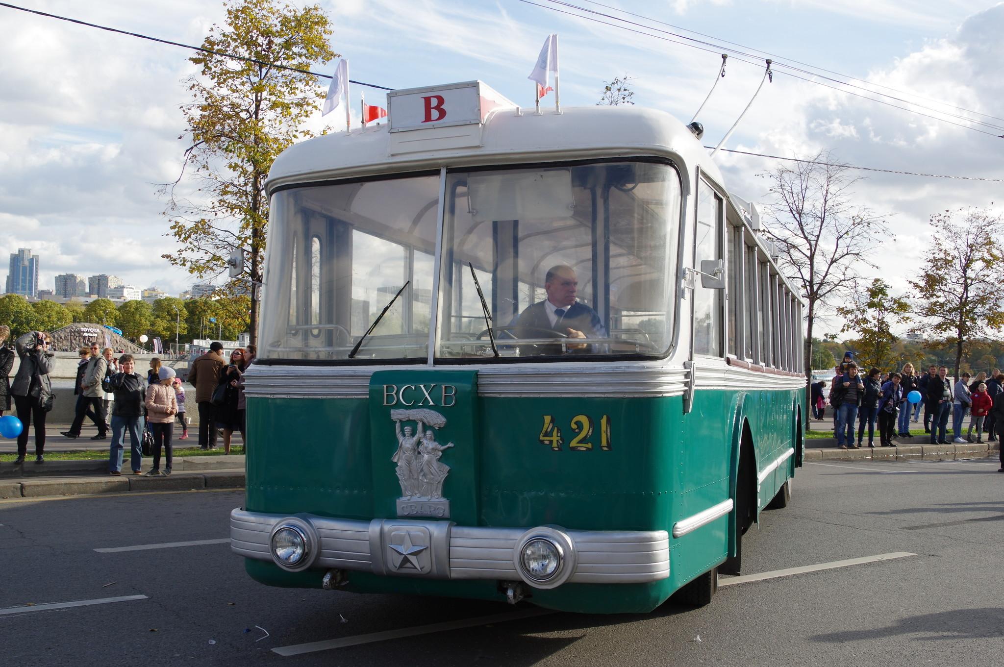 Троллейбус СВАРЗ ТБЭС-ВСХВ (1957 года выпуска)