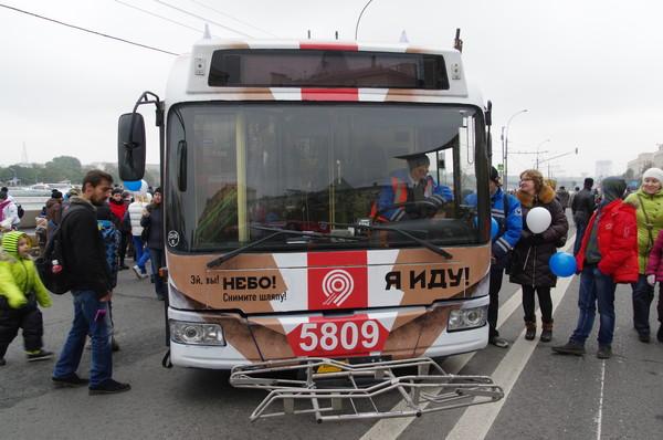 Праздник московского троллейбуса