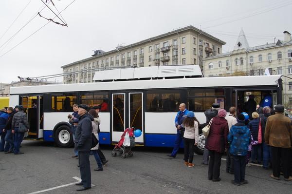 Троллейбус Тролза-5275. Изготовитель ОАО