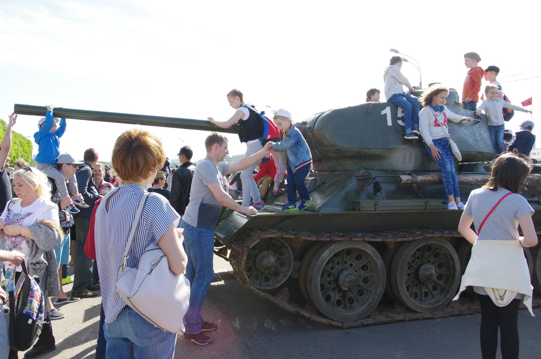 Легендарный танк Т-34-85