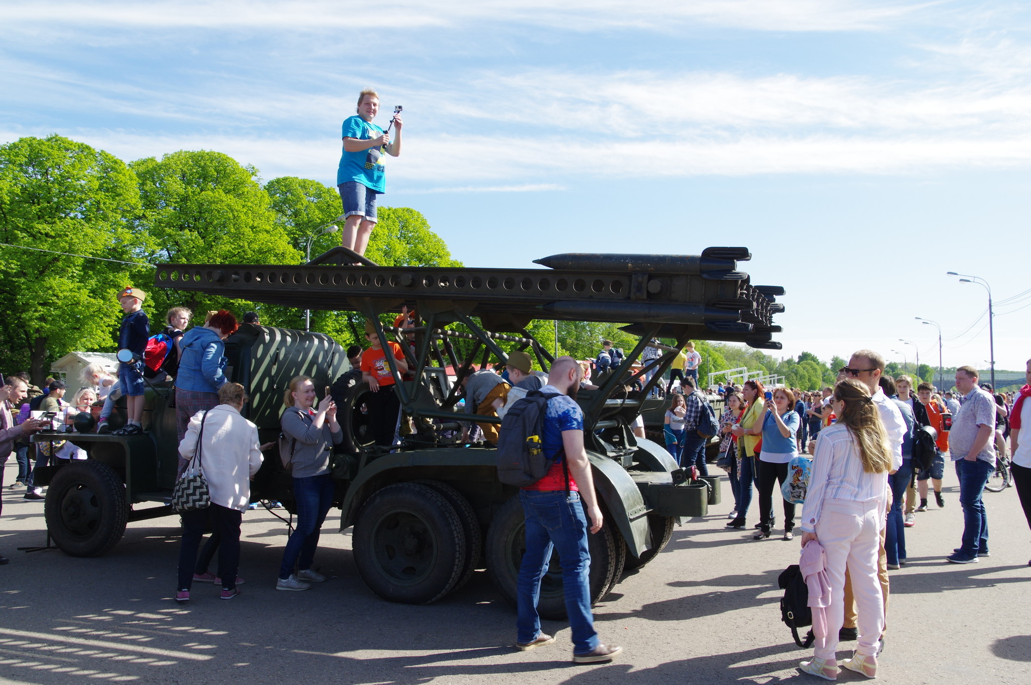 Реактивная установка БМ-13 «Катюша»
