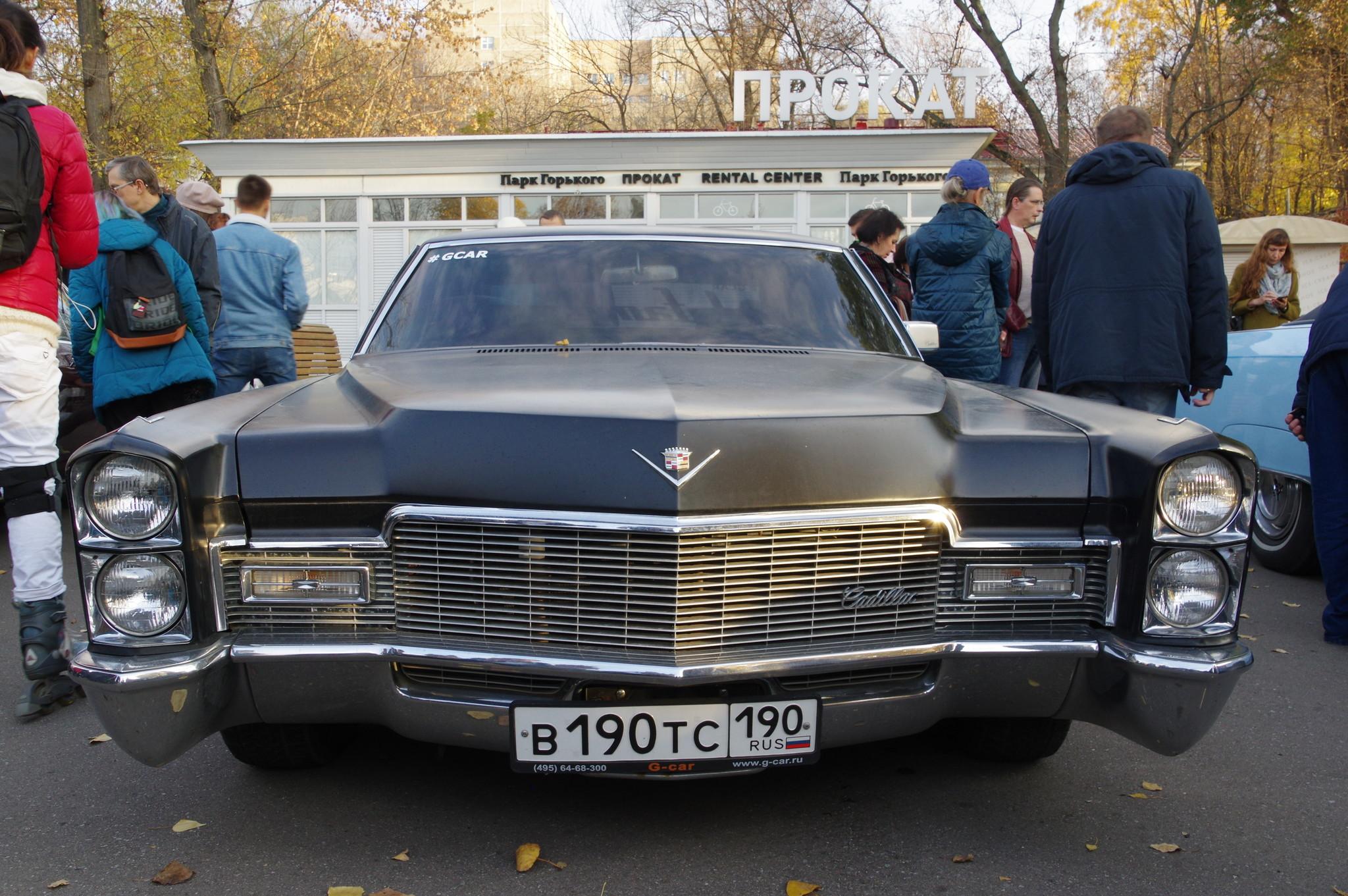 Выставка ретромашин в парке Горького