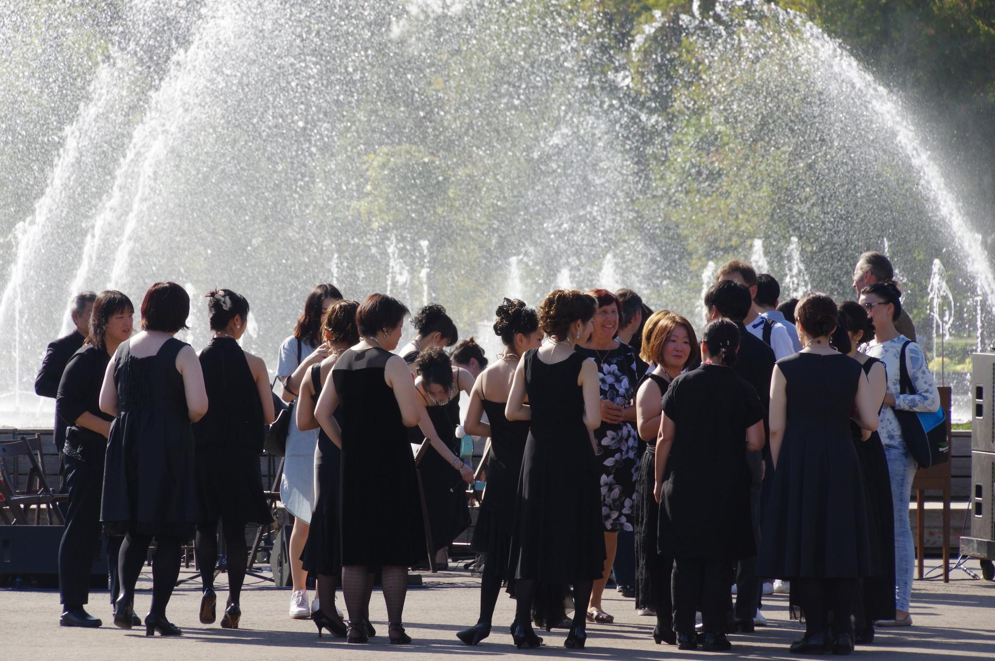 В Центральном парке культуры и отдыха имени Максима Горького