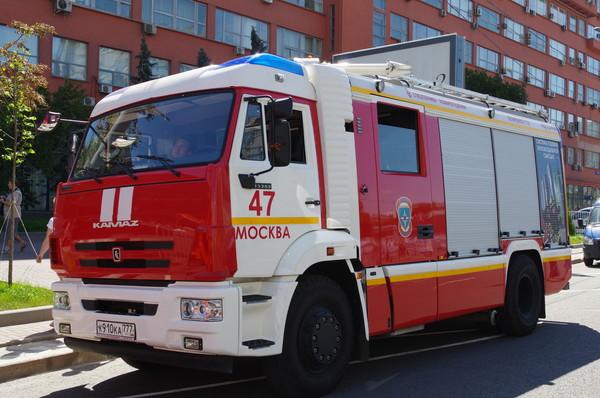 Пожарный автомобиль на базе шасси КАМАЗ