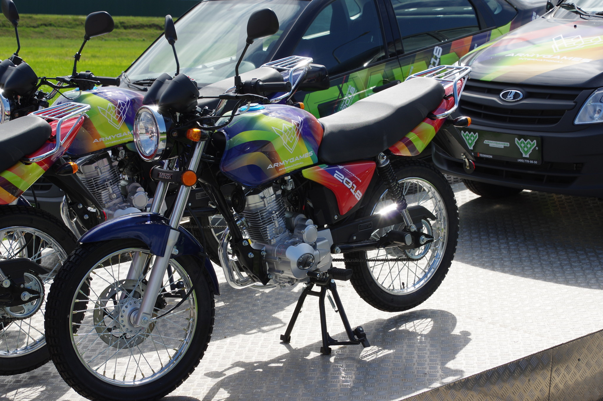 Мотоцикл «Минск»