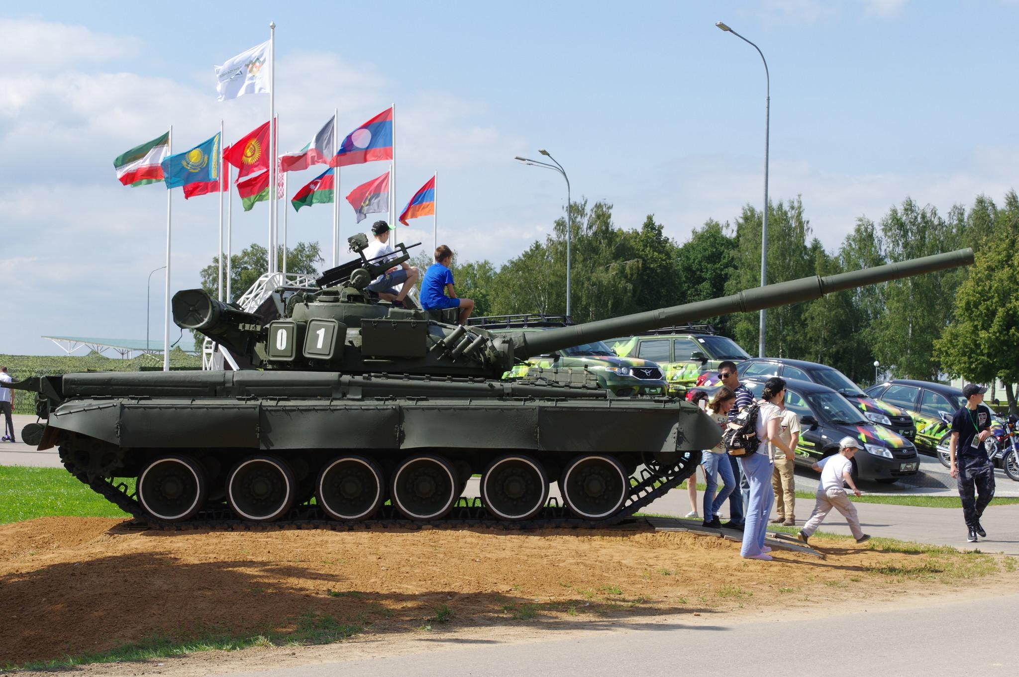 IV Армейские международные игры на полигоне «Алабино»