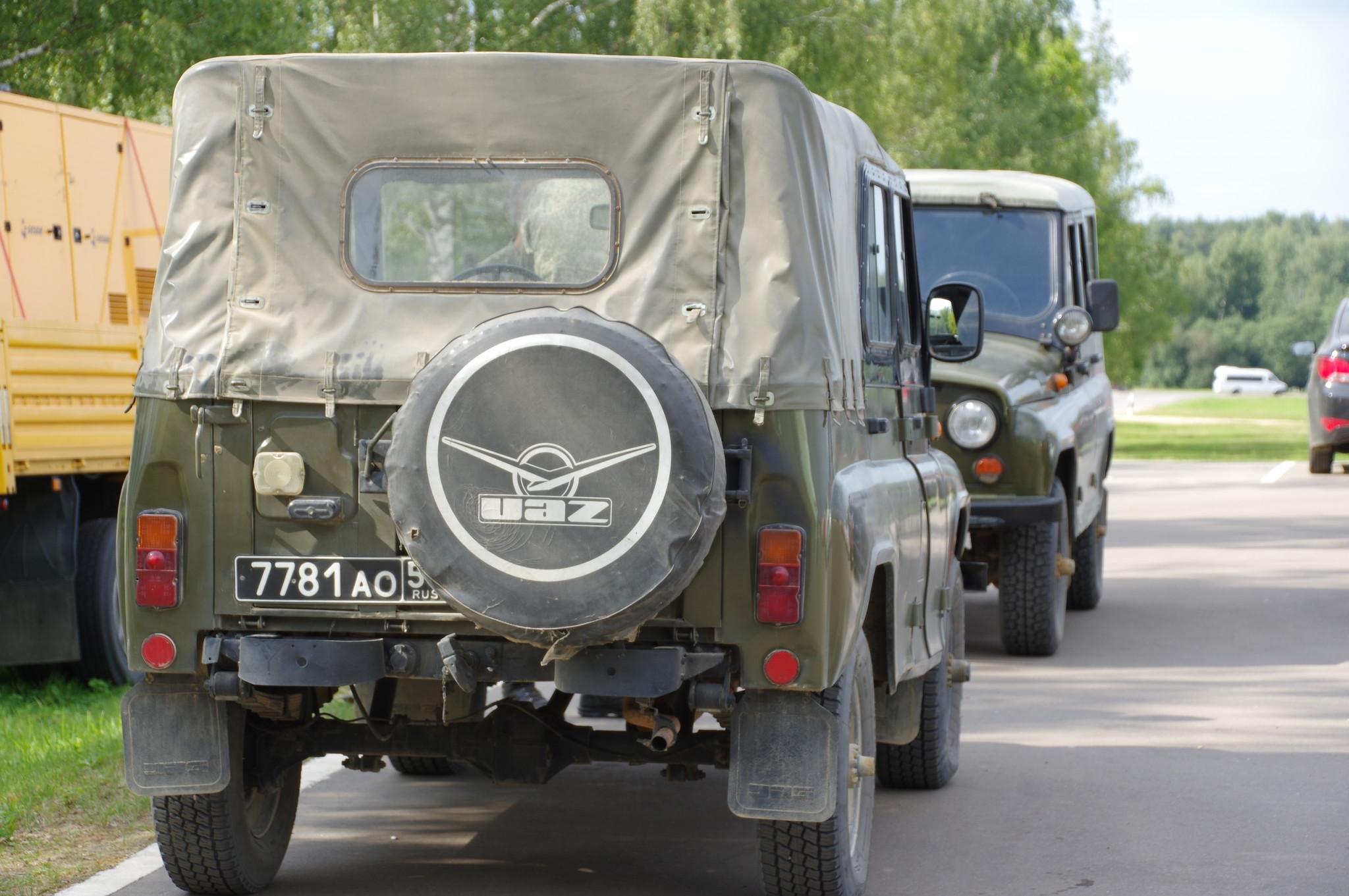 Автомобили УАЗ-469