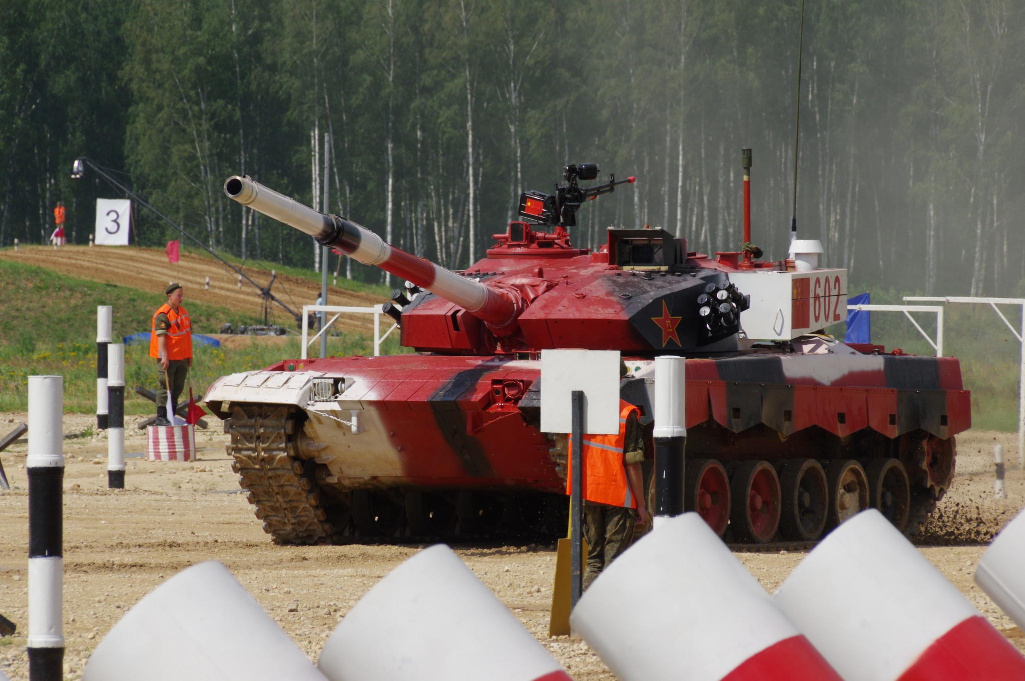 Китайский основной боевой танк Type 96B (улучшенная версия Type 96A)