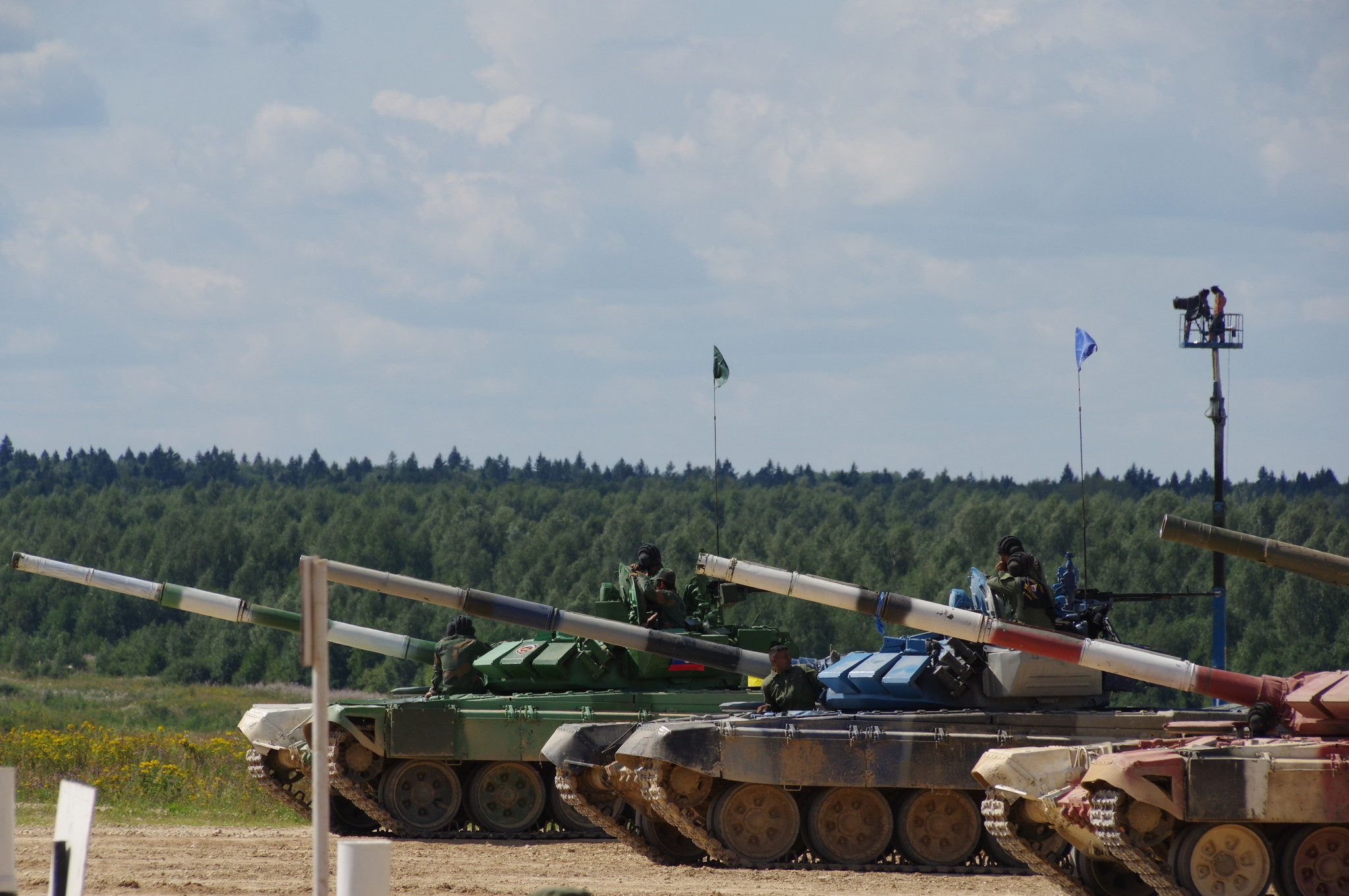 Основные боевые танки Т-72Б3