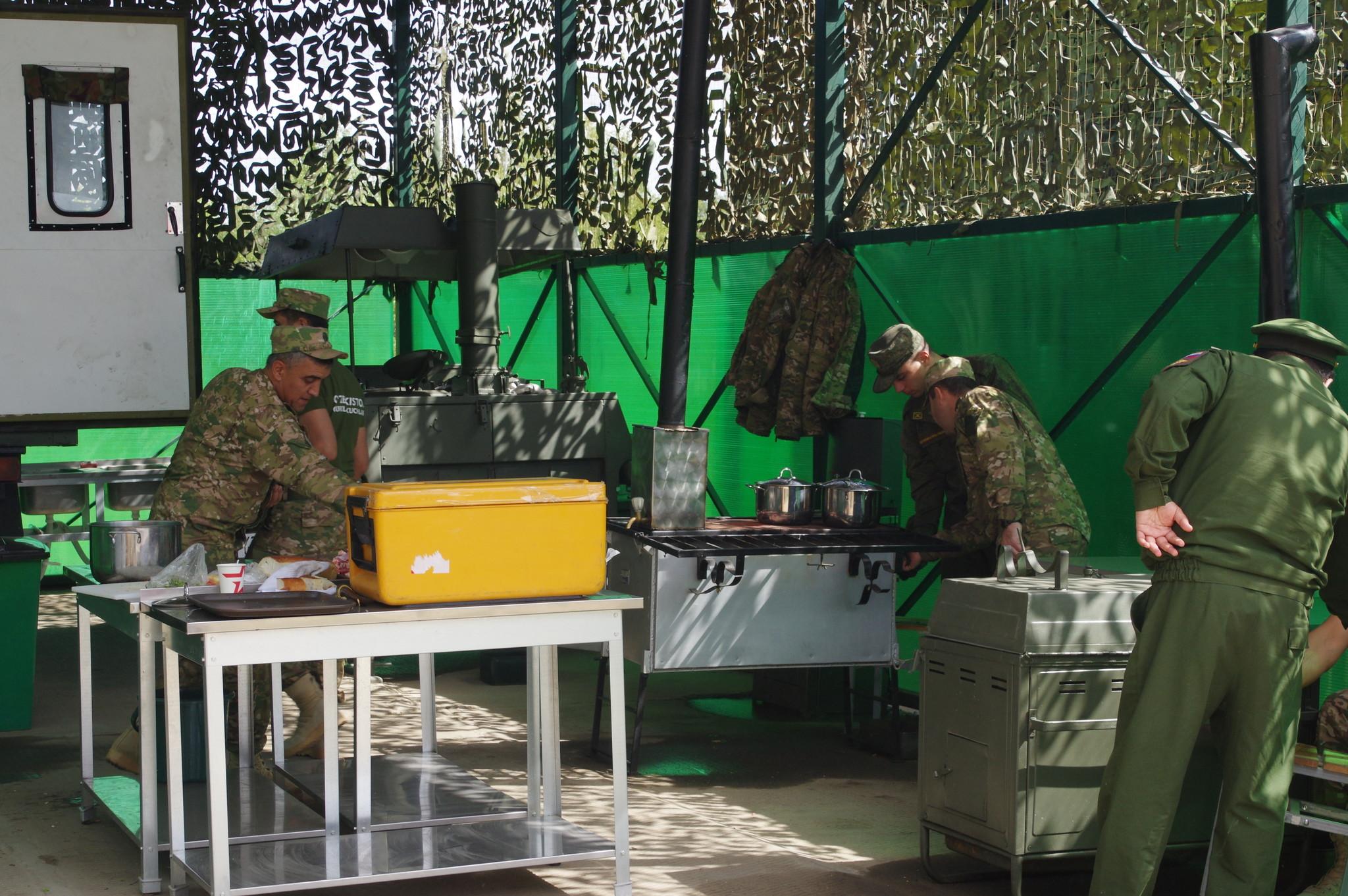 Международный конкурс «Полевая кухня» на подмосковном полигоне Алабино