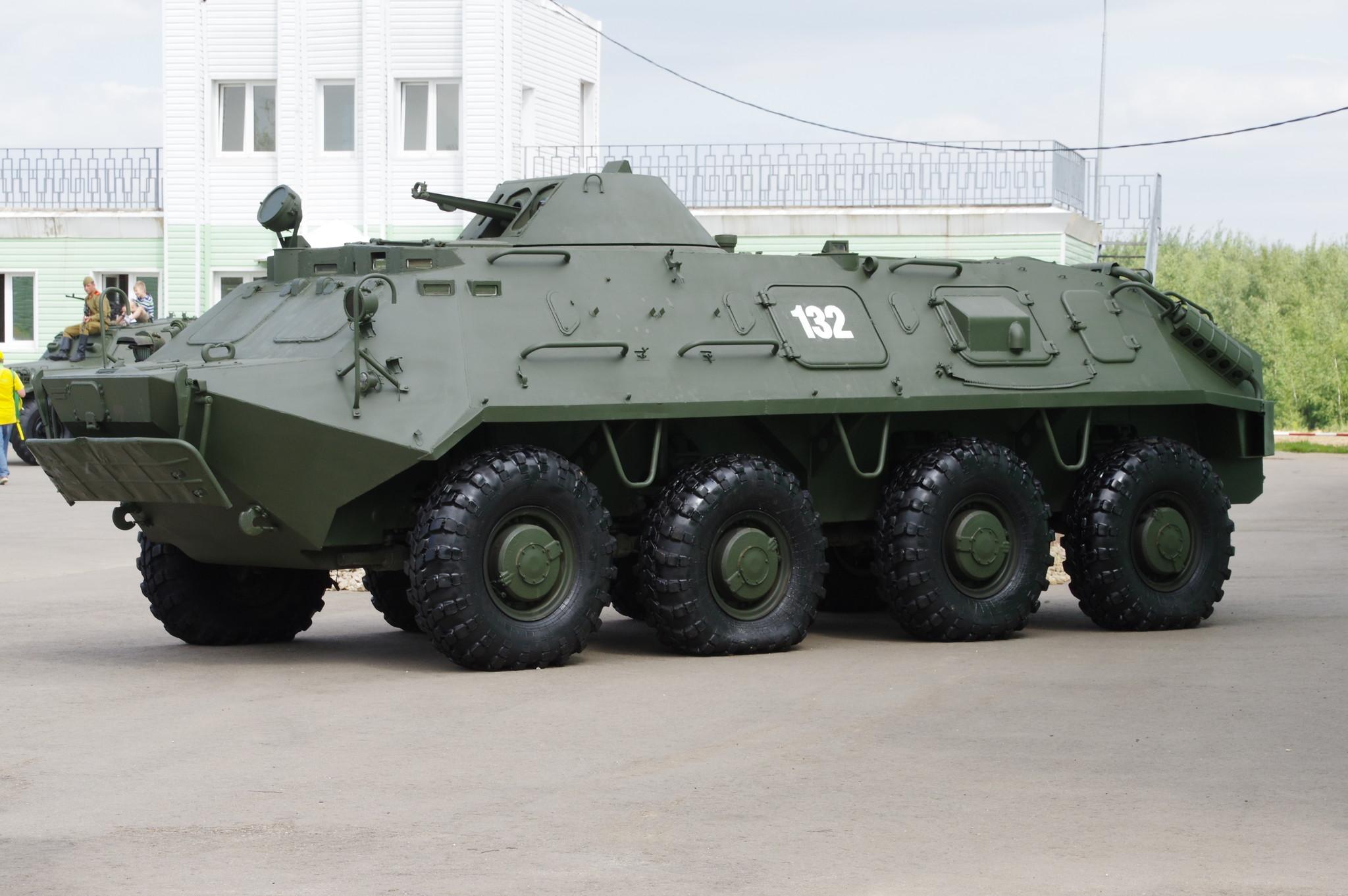 Бронетранспортёр БТР-60ПБ